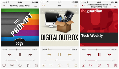 Instacast Playback Controls